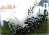 Plnění filtrů mramorovou drtí - říjen 2007