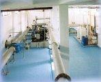 Čerpací stanice - sběrné potrubí (nerez), tepelné čerpadlo